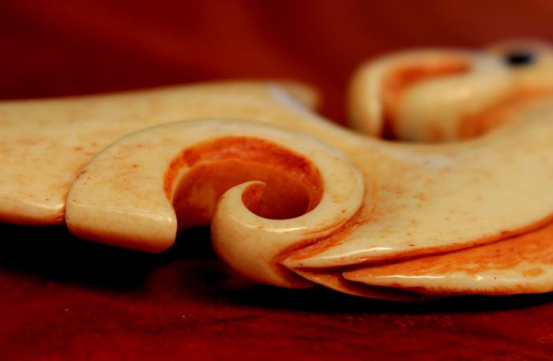 Bone carving antler paua abalone video tuition class